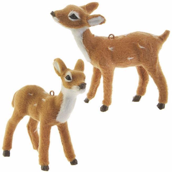 Christmas Decor - Deer - Brown