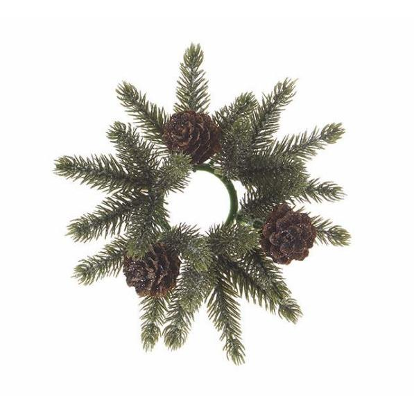 Candle Ring - Iced Pine ( Seasonal Item Call For Availability )