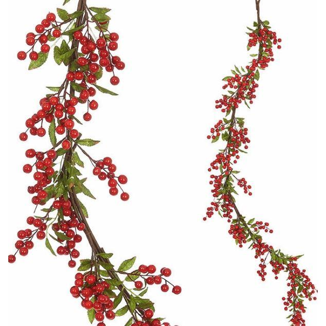 Garland - Holly Berry 5ft