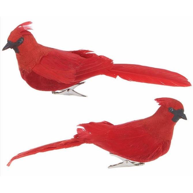 Clip On - Cardinal