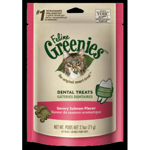 Pet Cat Treats Greenies Salmon