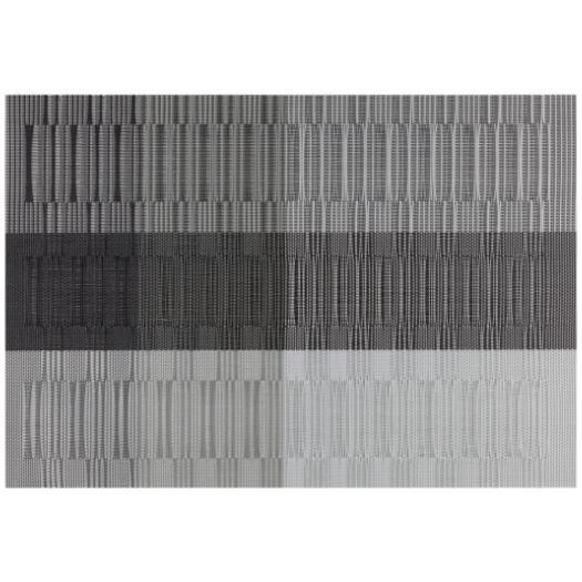 Placemat - Everytable - Silver/gray/black Bamboo