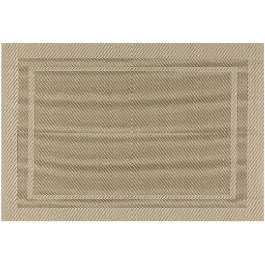 Placemat - Everytable - Thick Border Brown And Tan