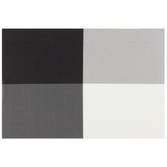 Placemat - Everytable - 4 Corners Black/white