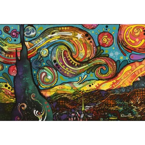 24inx36in Dean Russo Starry Night Poster