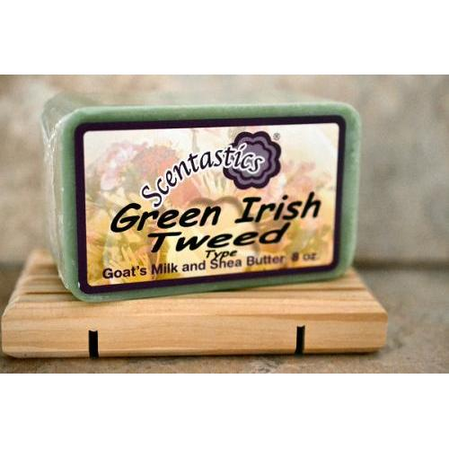 Soap Bar Green Irish Tweed