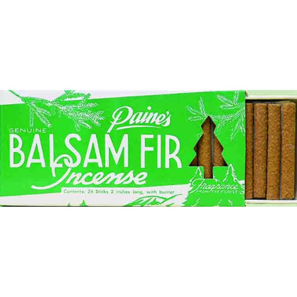 Incense Stick w/ Holder 24pc - Balsam Fir