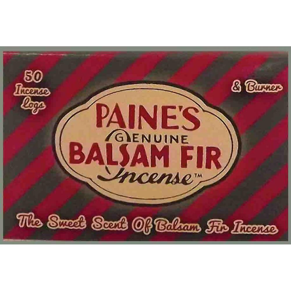 Incense Logs w/ Holder 50pc - Balsam