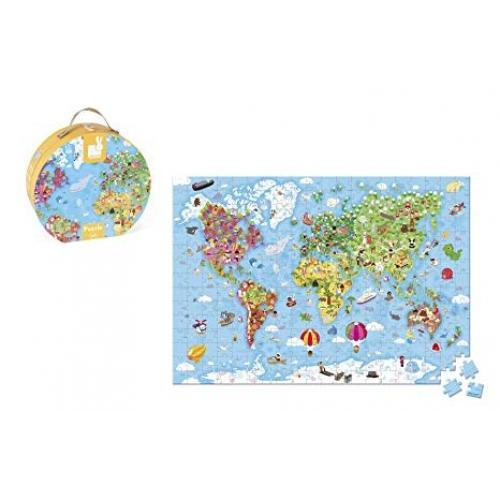 Puzzle Hat Boxed Giant World Map