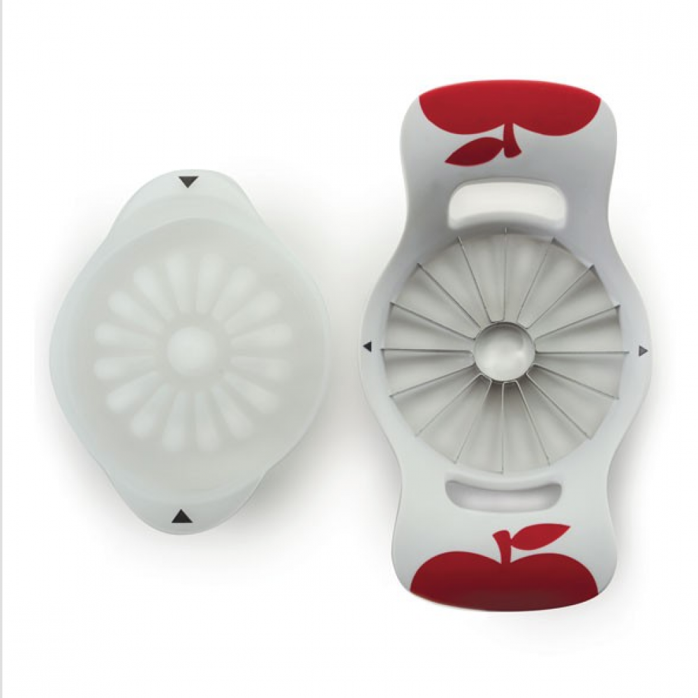 Fruit Wedger Apple Corer With Push Plate 16-slice