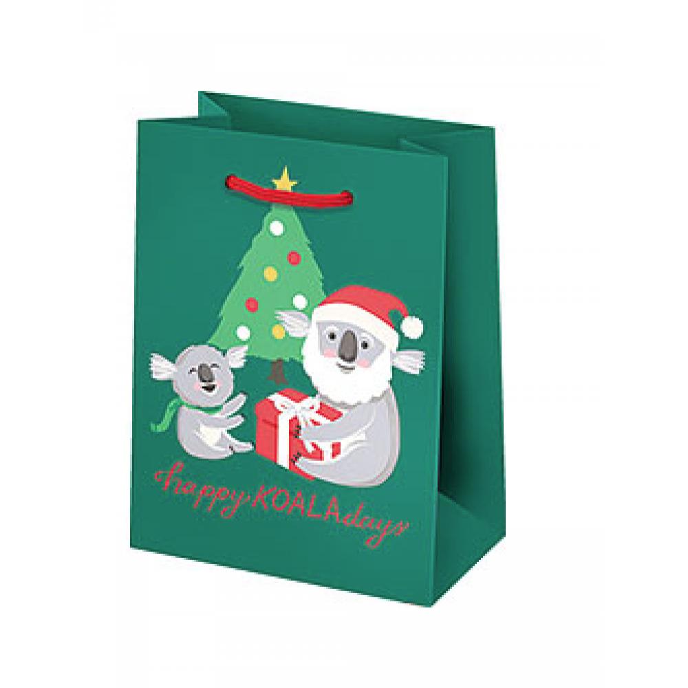 Holiday Gift Bag - Happy Koala-days - Small