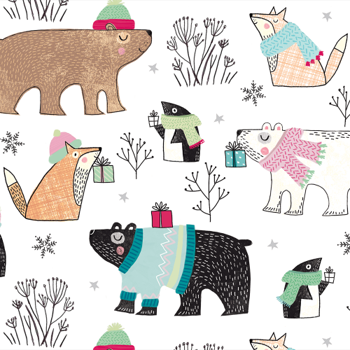 Wrapping Paper - Polar Sophisticate
