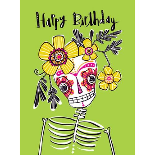 Birthday - Skeleton