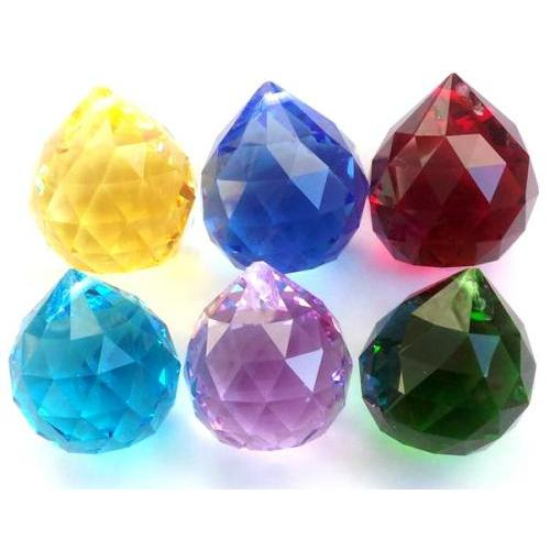 Assorted Crystal Spheres