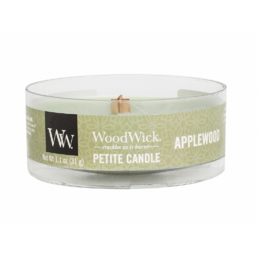 Woodwick Petite Candle Applewood 1.1oz