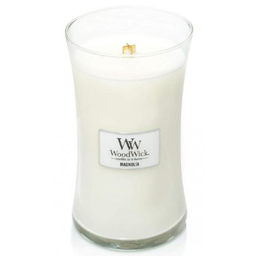 Woodwick Large Candle Jar Magnolia 22oz 130 Hour Burn Time