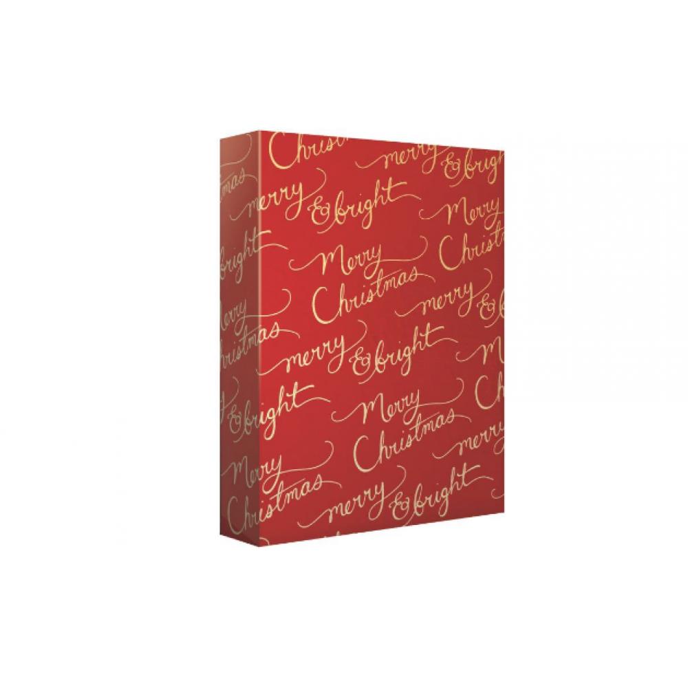 Gift Wrap - Merry Christmas Script - Jumbo