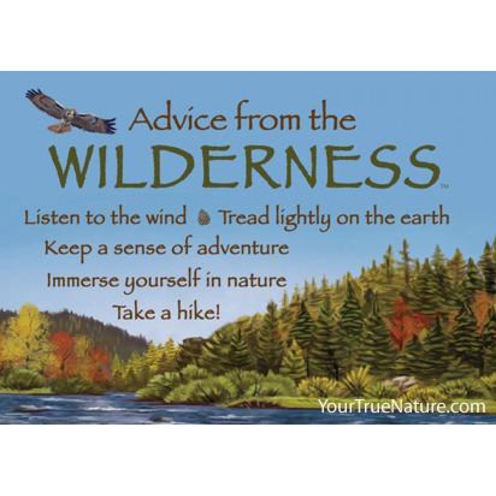 Wilderness Advice Magnet