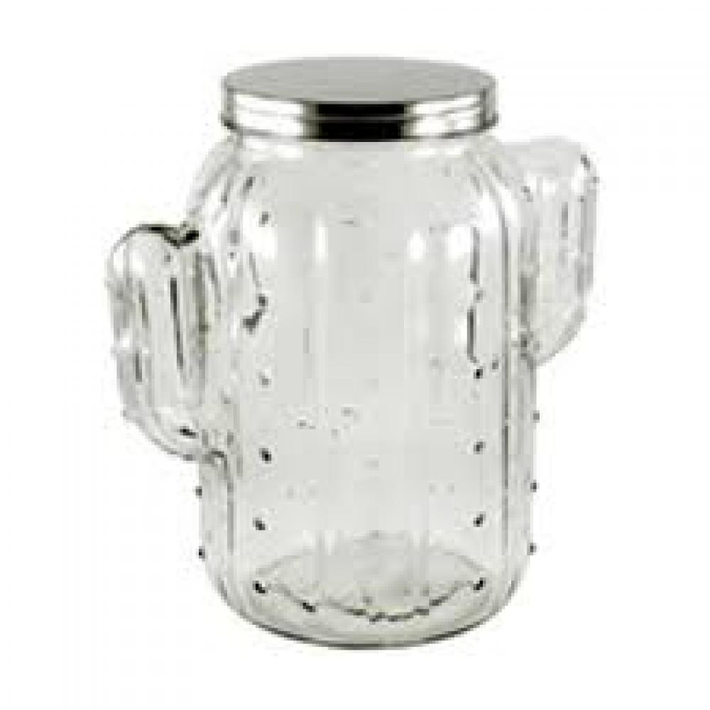 Glass Jar Jumbo Screw-top Cactus 170oz