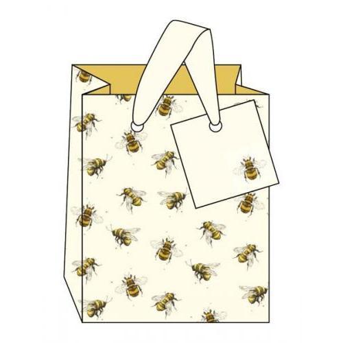 Gift Bag - Small - Bees - Art File
