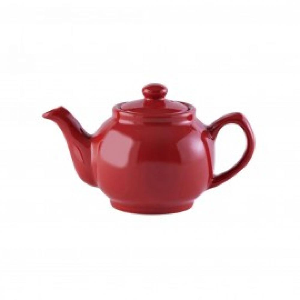 Teapot Red 2cup