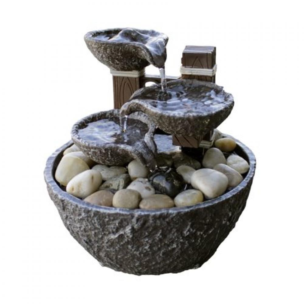 Fountain Small Tiered Rock Bowl