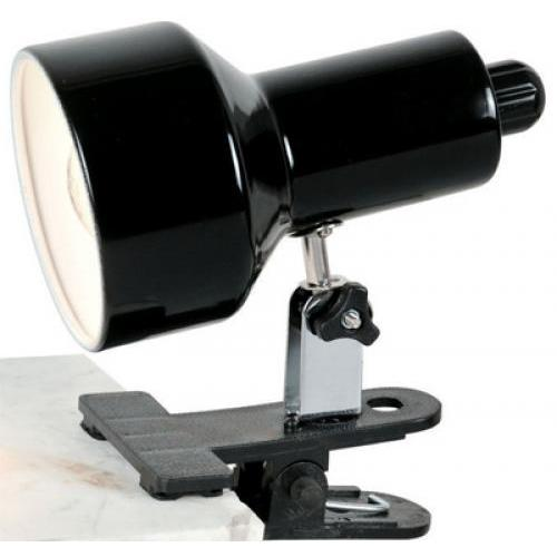 Desk Lamp Clip On Black