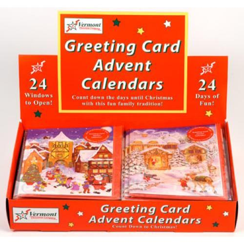 Advent Calendar Cards - Whimsical Assortment