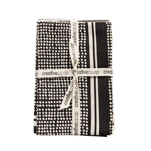 Tea Towel Black And White
