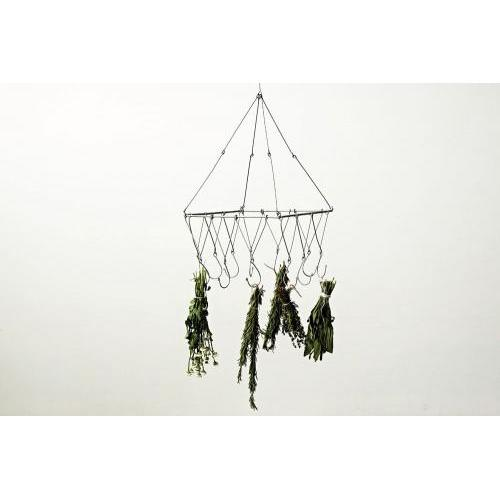 Metal Ceiling Hanger With 12 Hooks