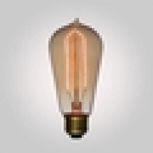 Edison Bulb 40 Watt Incandescent  Vintage Hairpin Filament