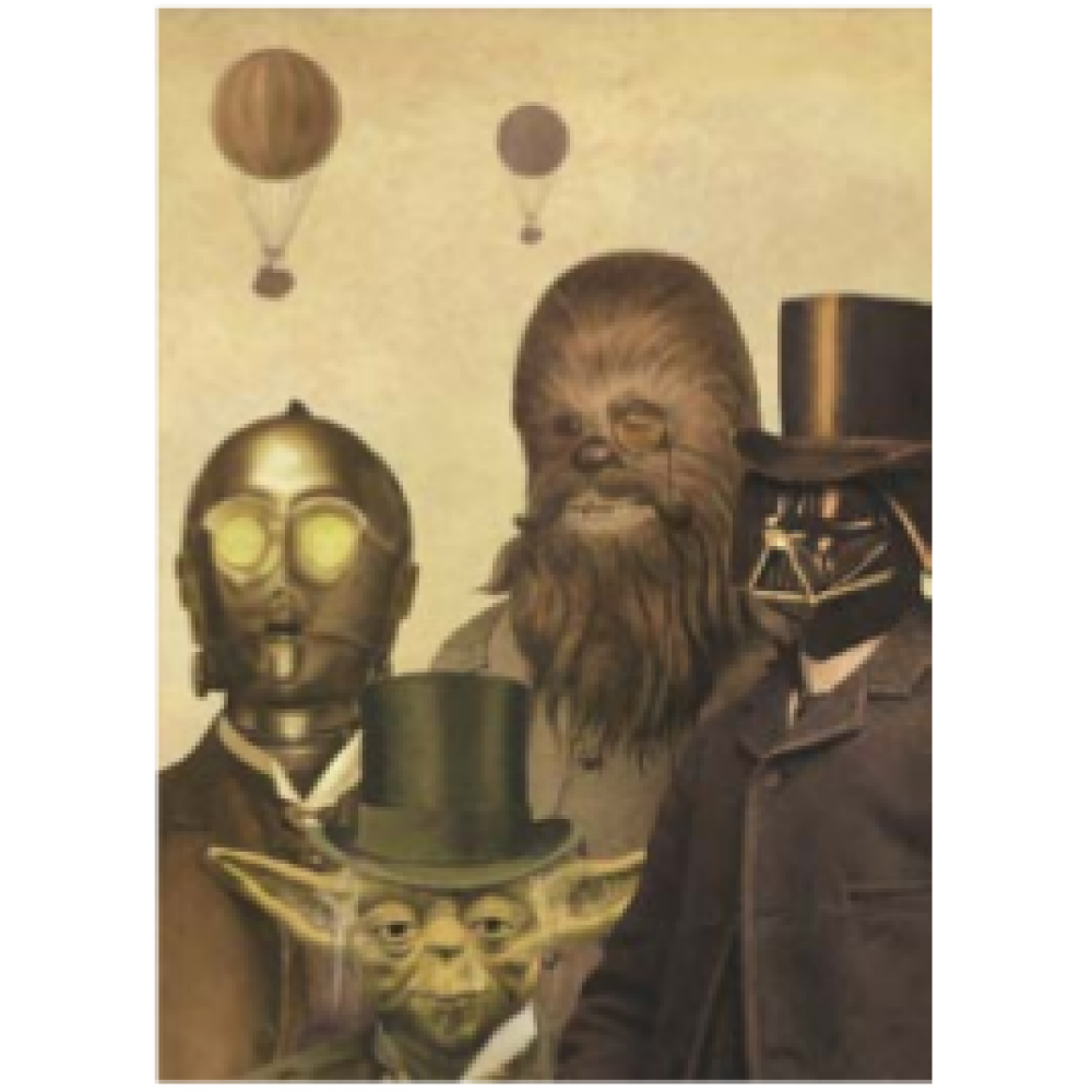 Boxed Cards - Xmas Force Be With You