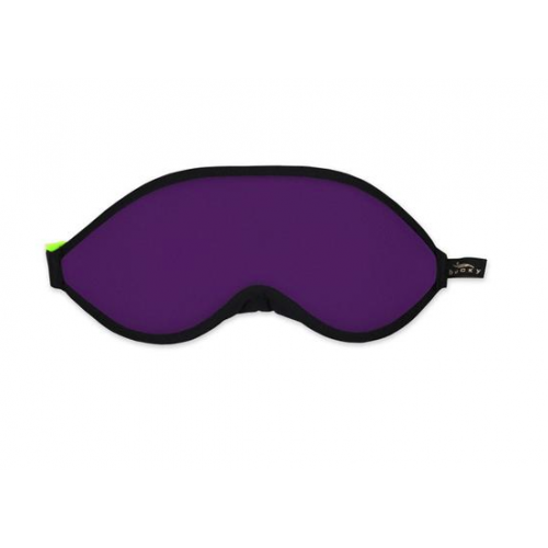 Sleep Mask Block Out With Ear Plugs Purple