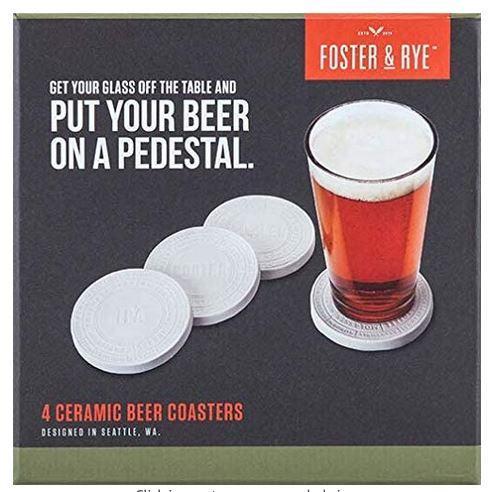Coasters Ceramic Beer (foster & Rye)