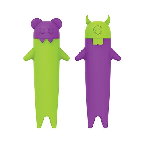 Popsicle Mold Silicone Ghost Spooksicle Box Of 4(truezoo)