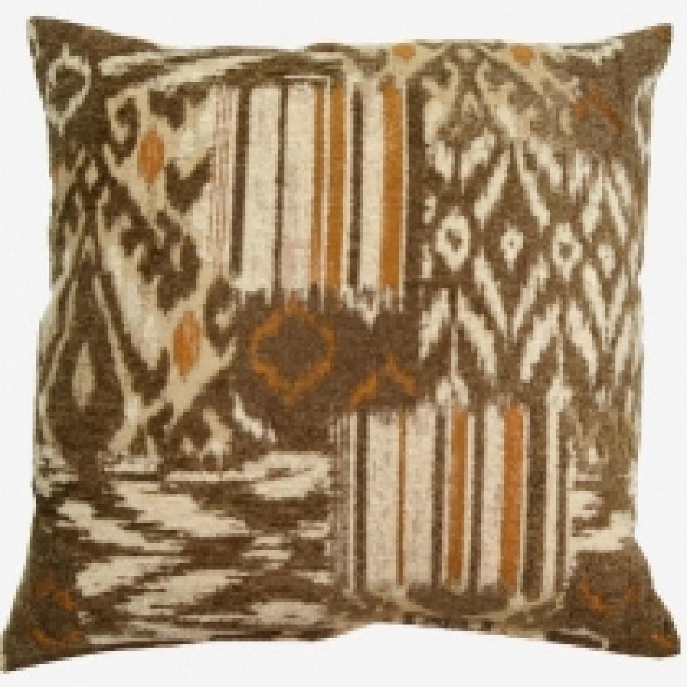 Bohemian Pecan Pillow 17in X 17in