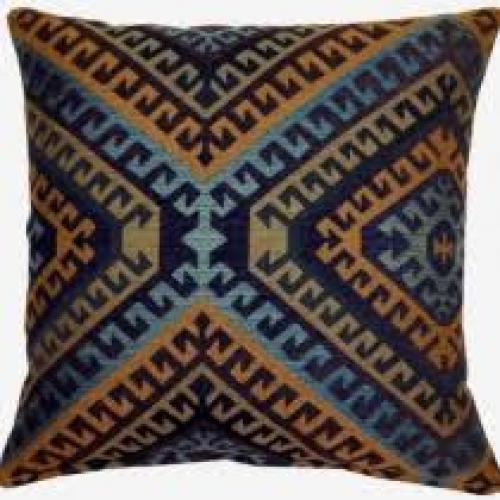 Oregon Mediterranean Pillow 17in X 17in