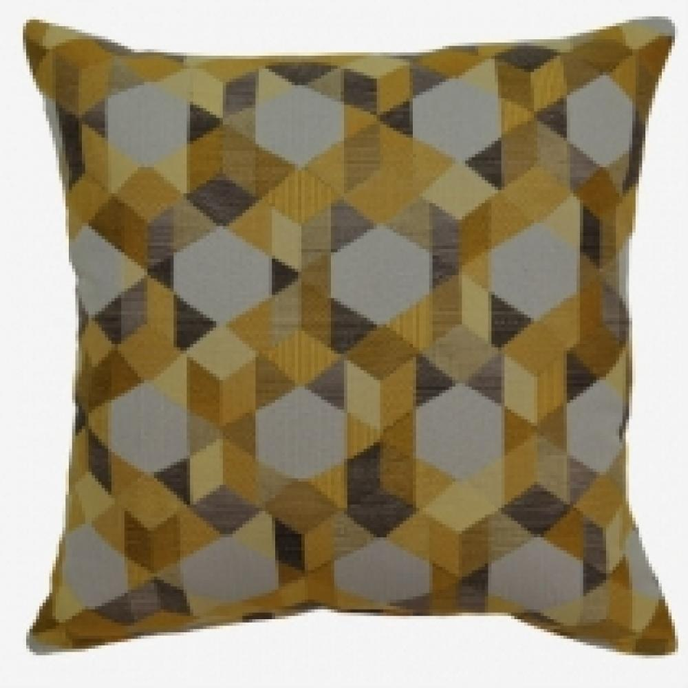 Ultrahue Custard Pillow 17in X 17in