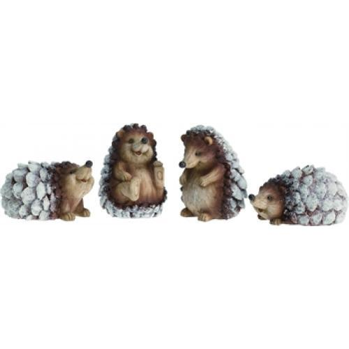 Large Snow Hedgehog - 4 Assorted