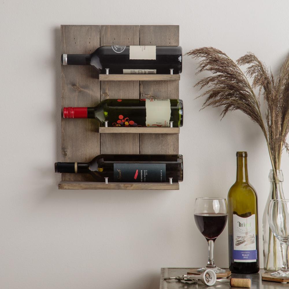 Wine Holder Rack Shelf Wooden
