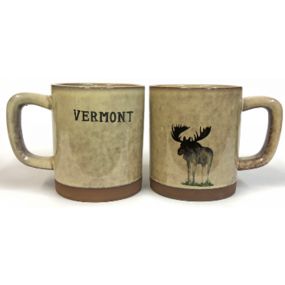Mug New Moose Wooden Barrel