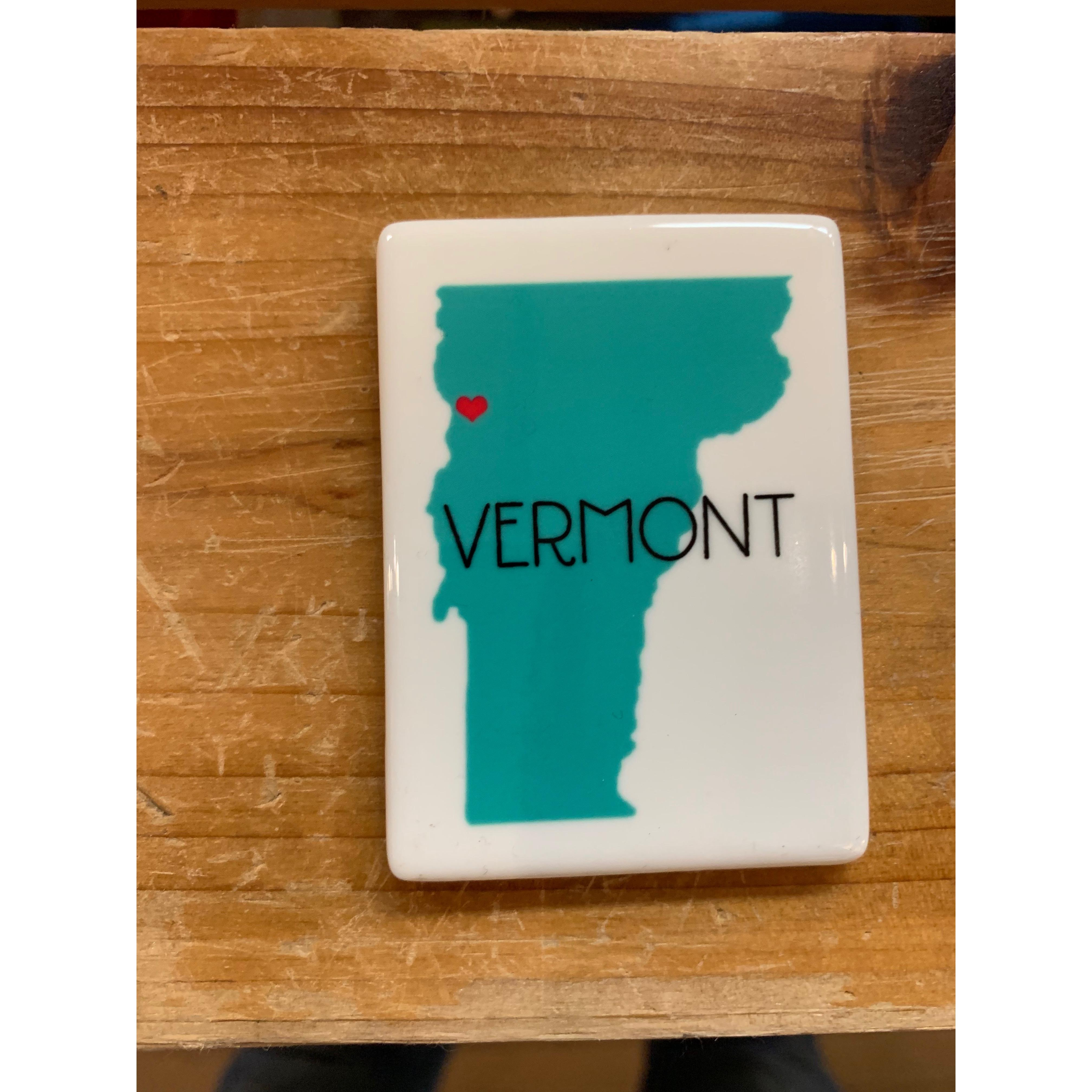 Magnet - Vermont Love - Teal State