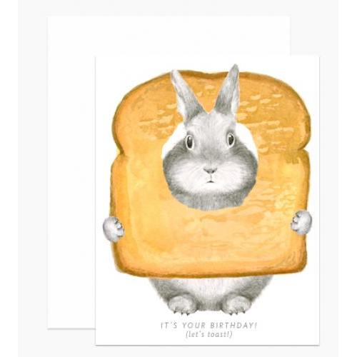 Birthday - Toast Bunny