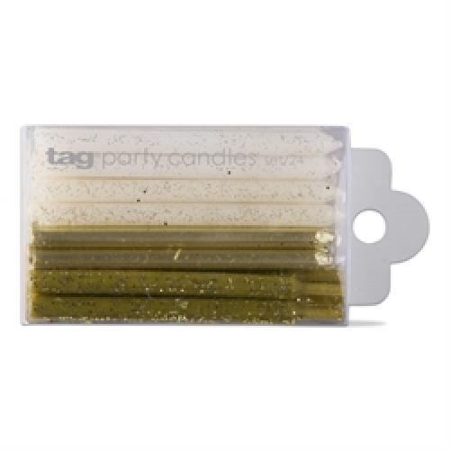 Party Candles - Sparkle And Shine - Gold