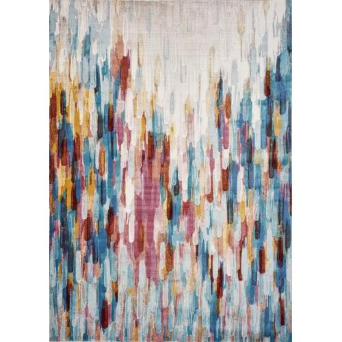Arte 5x7ft7in Multicolor Moderne Rug