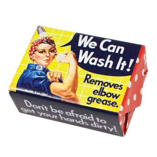 Soap - We Can Wash It Rosie The Riveter