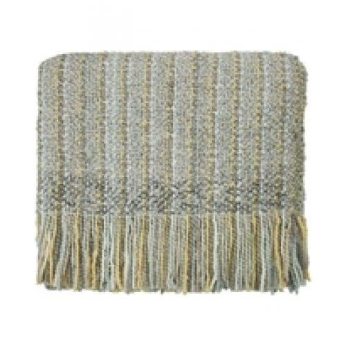 Throw Blanket Stria Silver 40x70