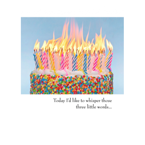 Birthday - Candles On Cake