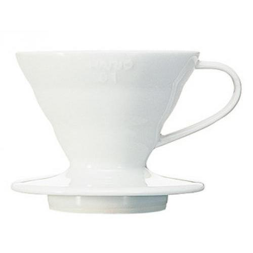 Coffee Maker Pour-over Ceramic Dripper Ceramic White 1cup