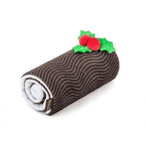 Seasonal Pet Toy Holiday Classic Yummy Yuletide Log